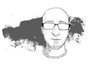 clip black and white download Joshuagraphic josh johnson deviantart. Valkyrie drawing profile