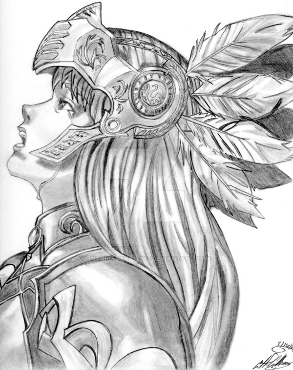 vector transparent At paintingvalley com explore. Valkyrie drawing traditional