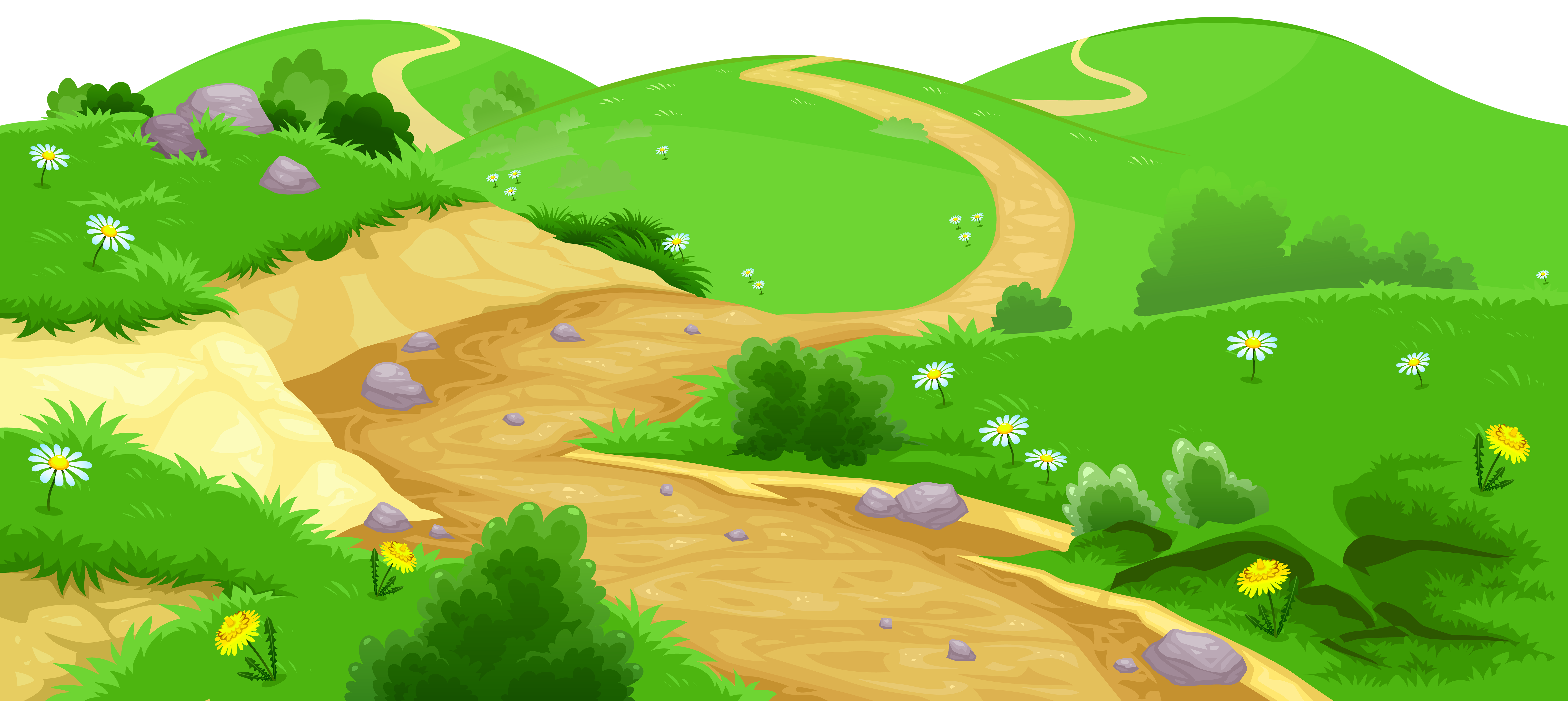 picture library download Ground transparent png image. Valley clipart