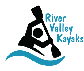 clip royalty free download Kayaks . Valley clipart blue river
