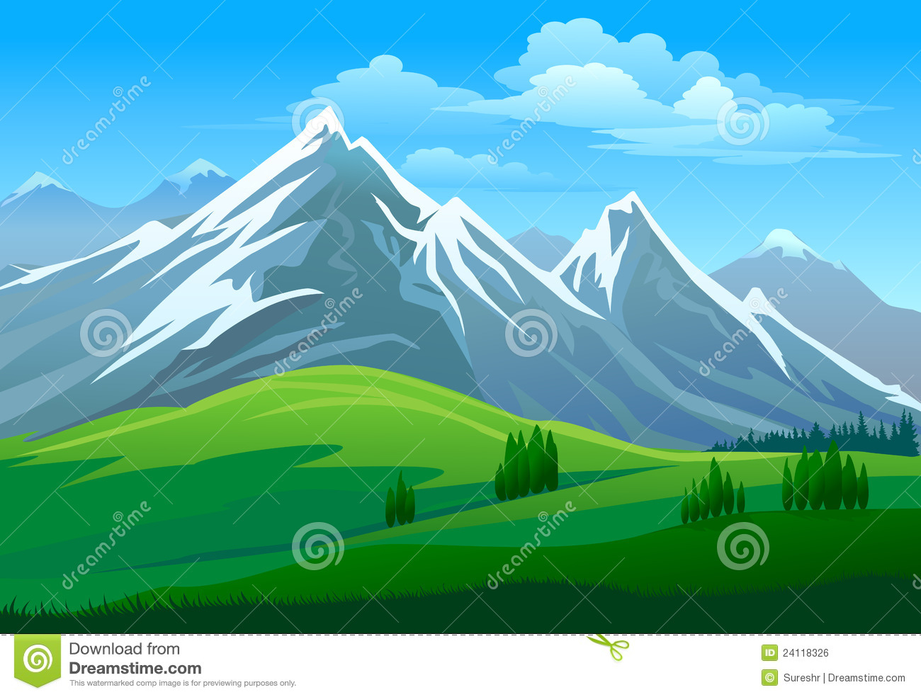 royalty free library Hills and mountains rating. Valley clipart definition