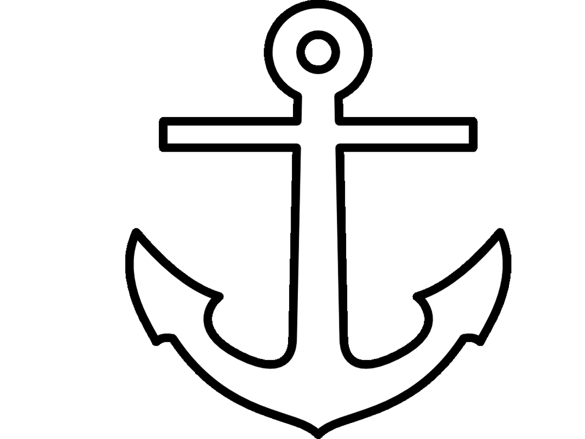 image Image anchor body png. Vector anchors outline