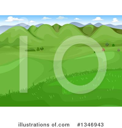 vector download Illustration by bnp design. Valley clipart grassland.