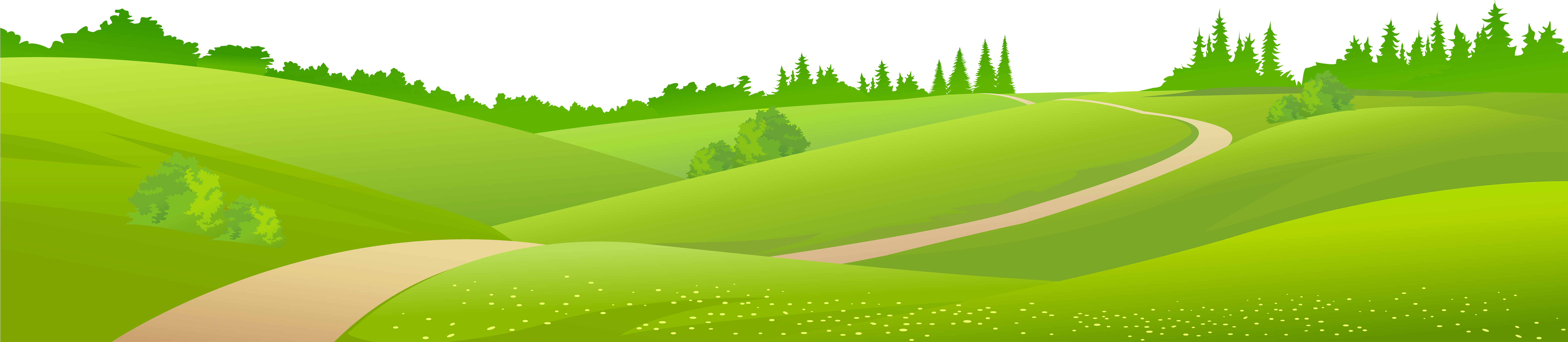 vector black and white Valley clipart grassland. Hd png transparent background.