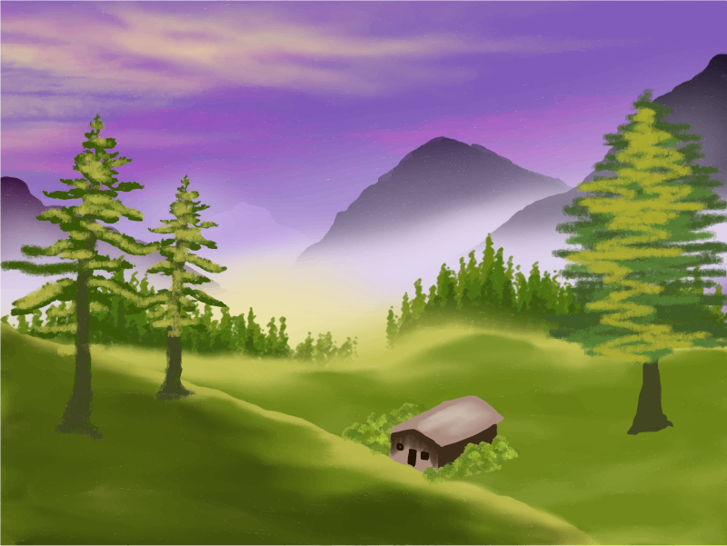 jpg freeuse Transparent png free download. Valley clipart hill station.