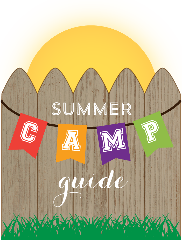 picture royalty free library Valley clipart park scene. Summer day camp guide.