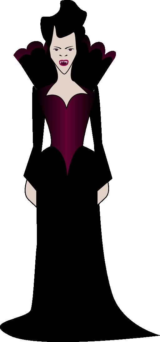 jpg library Vampir clipart lady vampire. I royalty free public