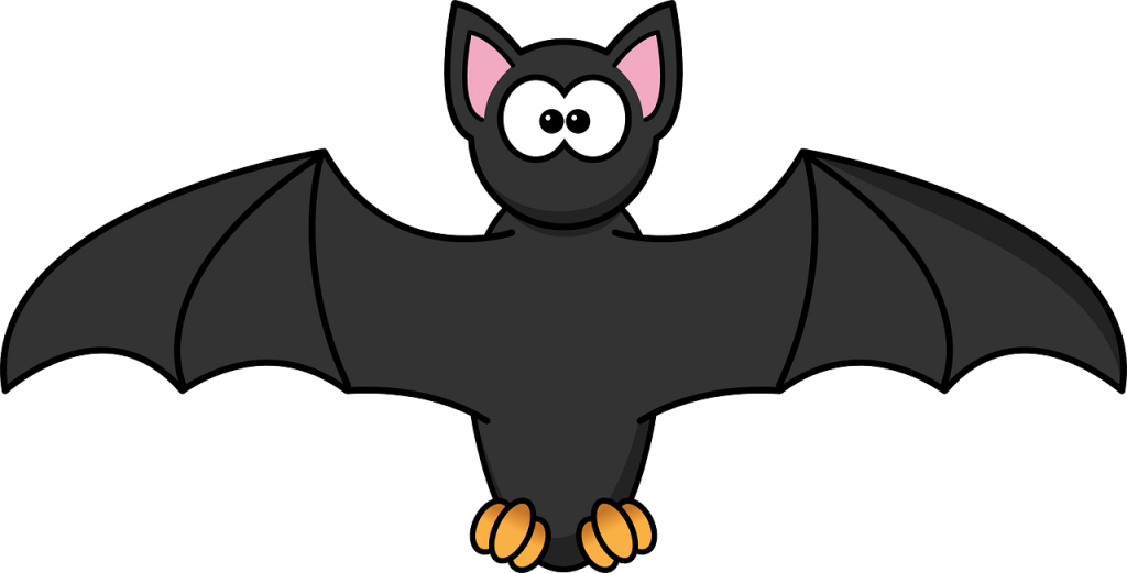 picture freeuse Vampire bat cartoon coloring. Vampir clipart printable