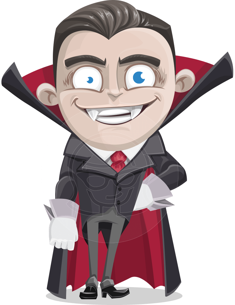 jpg library Vampir clipart vampire cape. A kid cartoon character