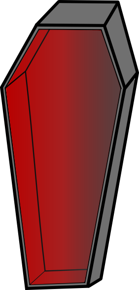 clip freeuse download Vampire clipart coffin box. Clip art at clker.