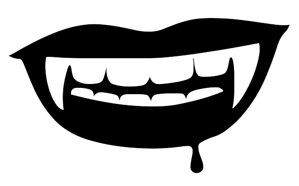 png royalty free Clipart scary free on. Vampire transparent