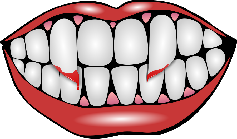 clipart royalty free fangs vector #86931985