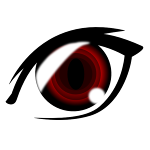 banner transparent library Vampire transparent anime mouth. Eye clip art at