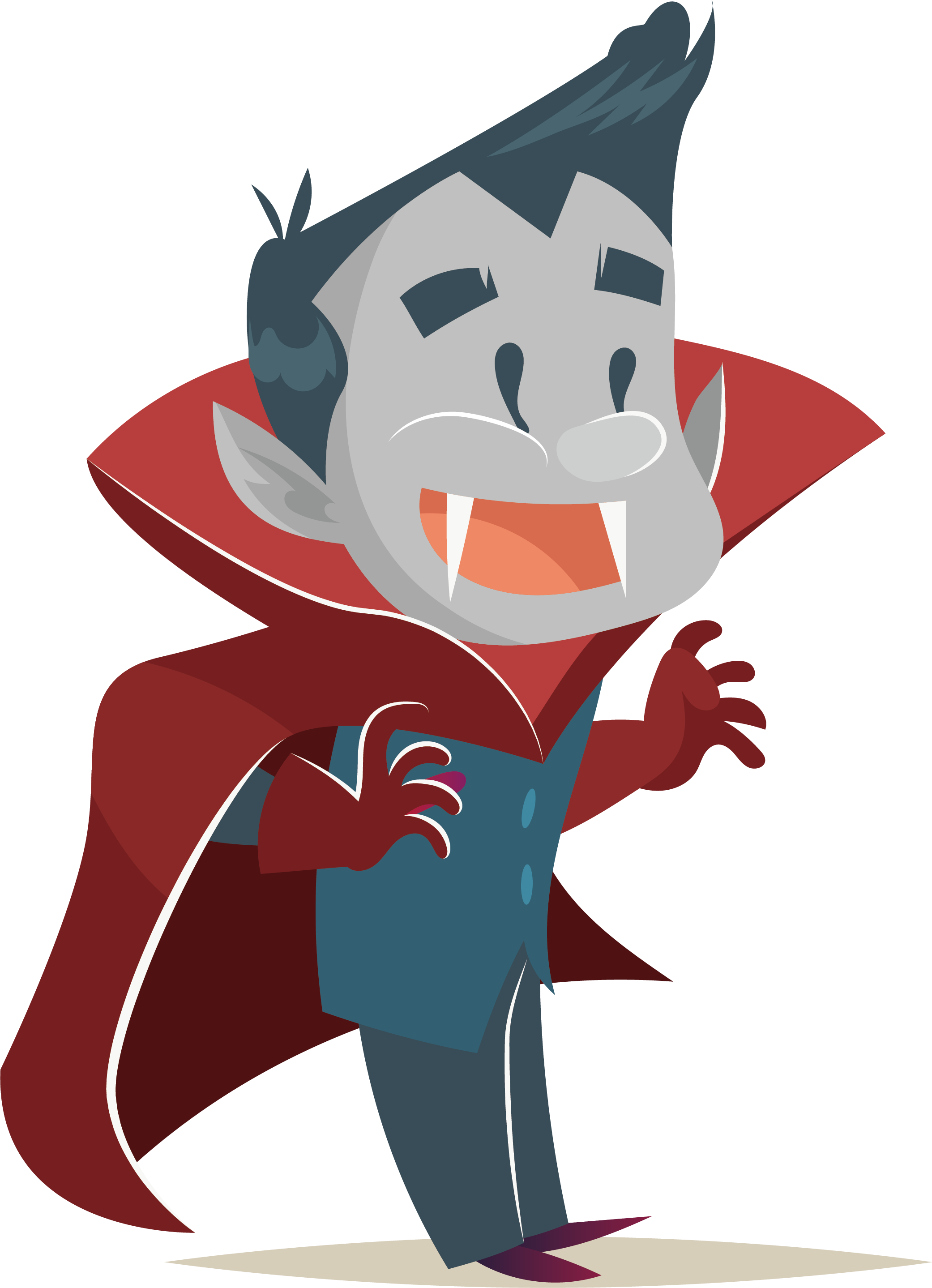 svg library Vampire transparent cartoon halloween. Animation illustration happy transprent