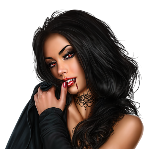 vector free download Vampire transparent female. Png girl images pluspng