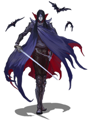 clip library stock Image png the demonic. Vampire transparent rpg