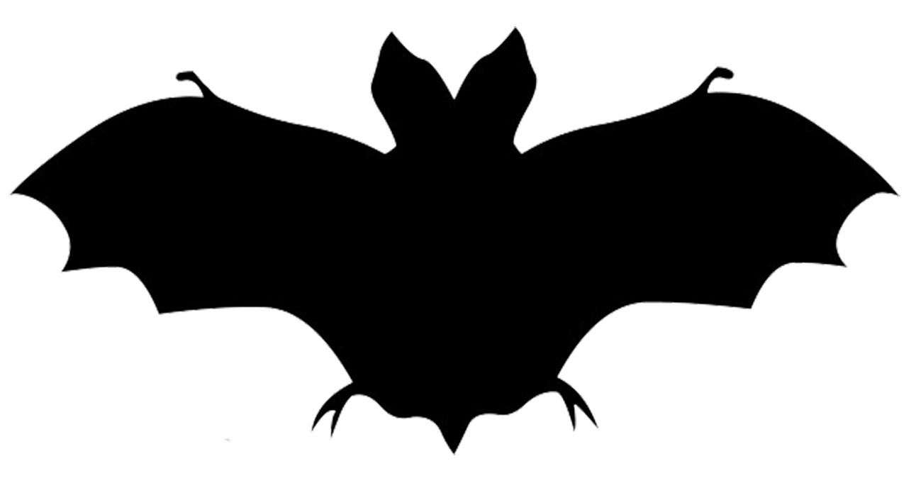 image black and white download Bat clip art silhouettes. Vampire transparent silhouette