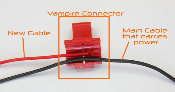 download Vampires clip automotive wire. Installing backup camera subaru
