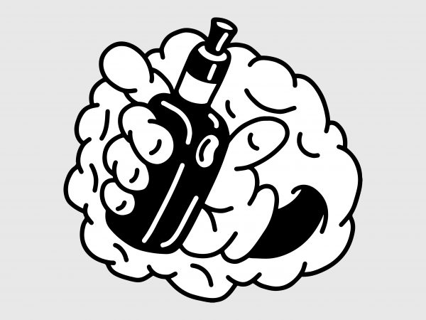 clip black and white download Vape vector. Hand t shirt design