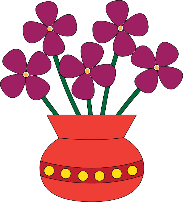 png freeuse Cliparts co colored flower. Vase clipart vass