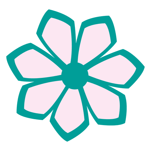 clip art transparent Turquoise flower transparent png. Vector 1 icon