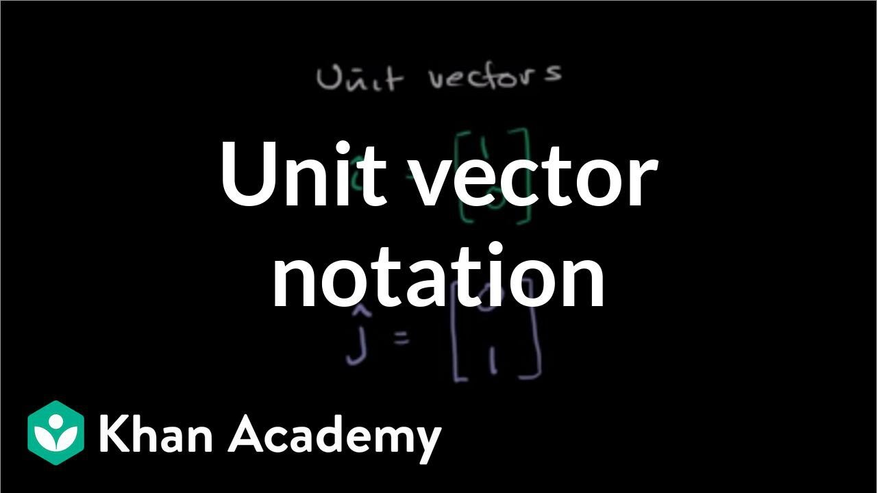 black and white download Unit vectors intro video. Vector 1 khan academy