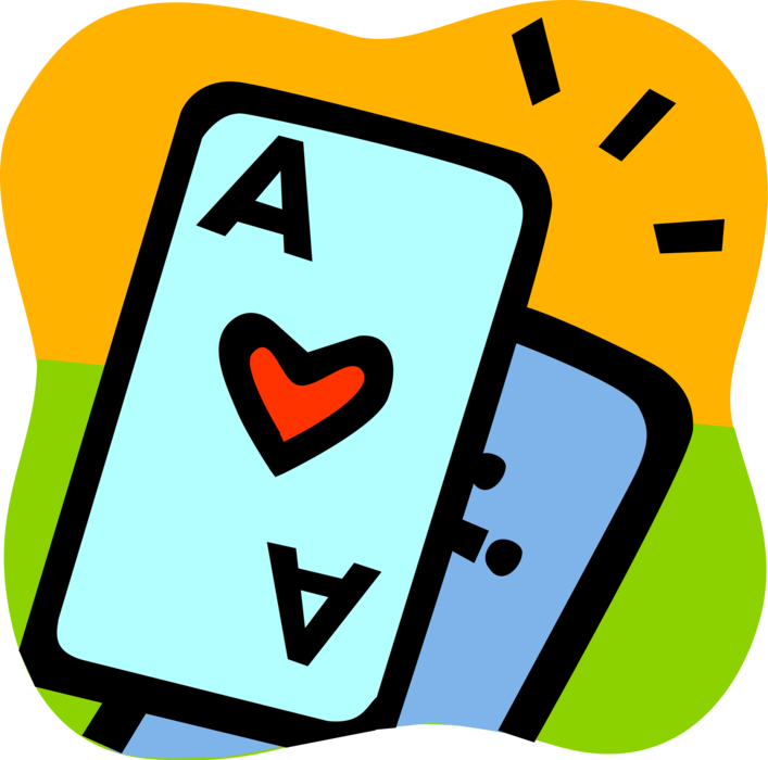 vector free download Vector 21 ace. Of hearts casino playing