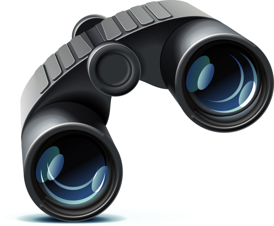 clipart royalty free library Computer icons download bushnell. Vector 21 binoculars