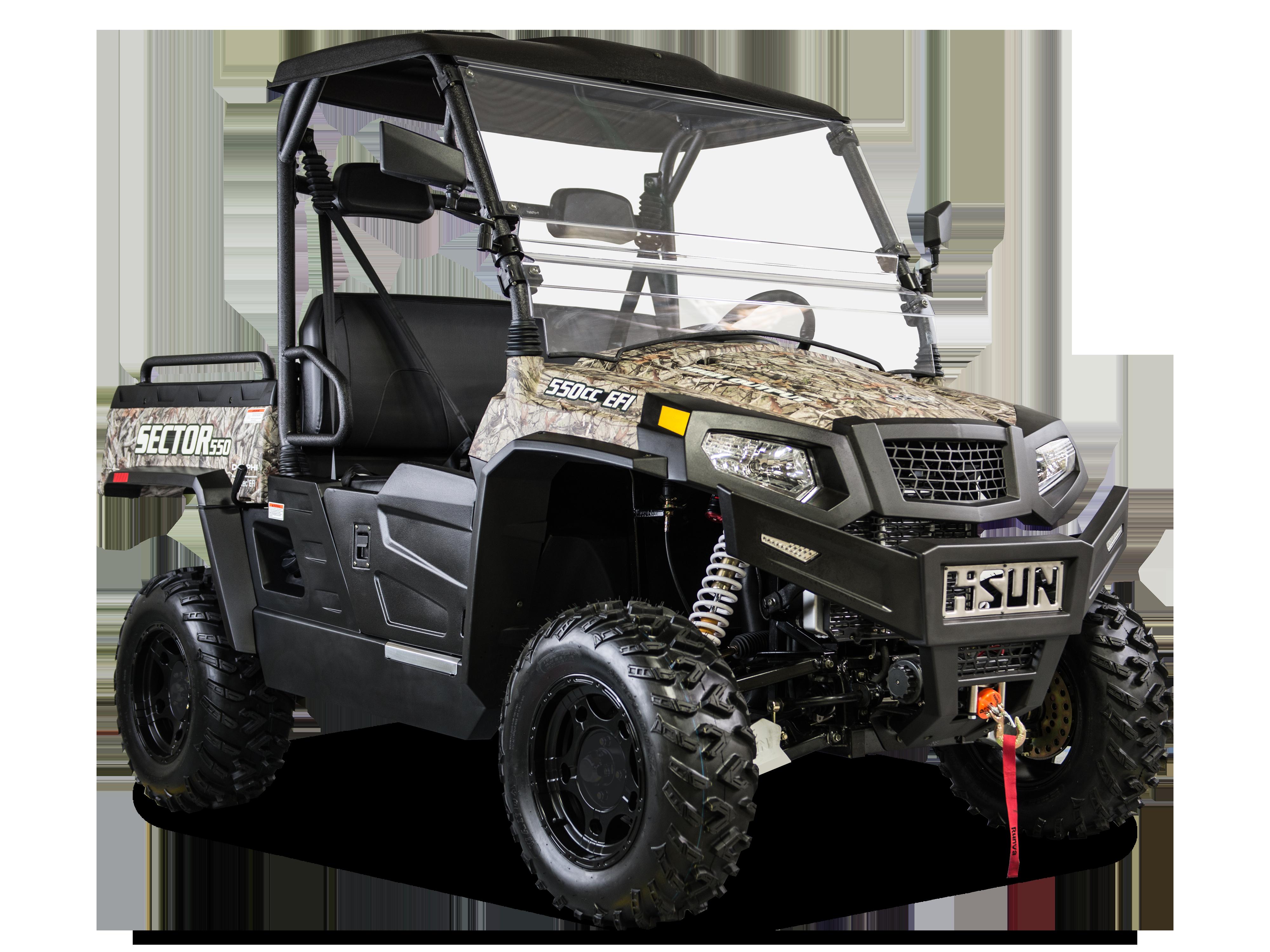 svg freeuse Hisun motors sector features. Vector 500 camo