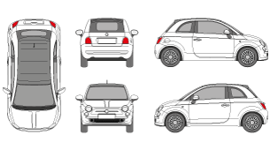 vector library download Vector 500 fiat. Mr clipart photo realistic