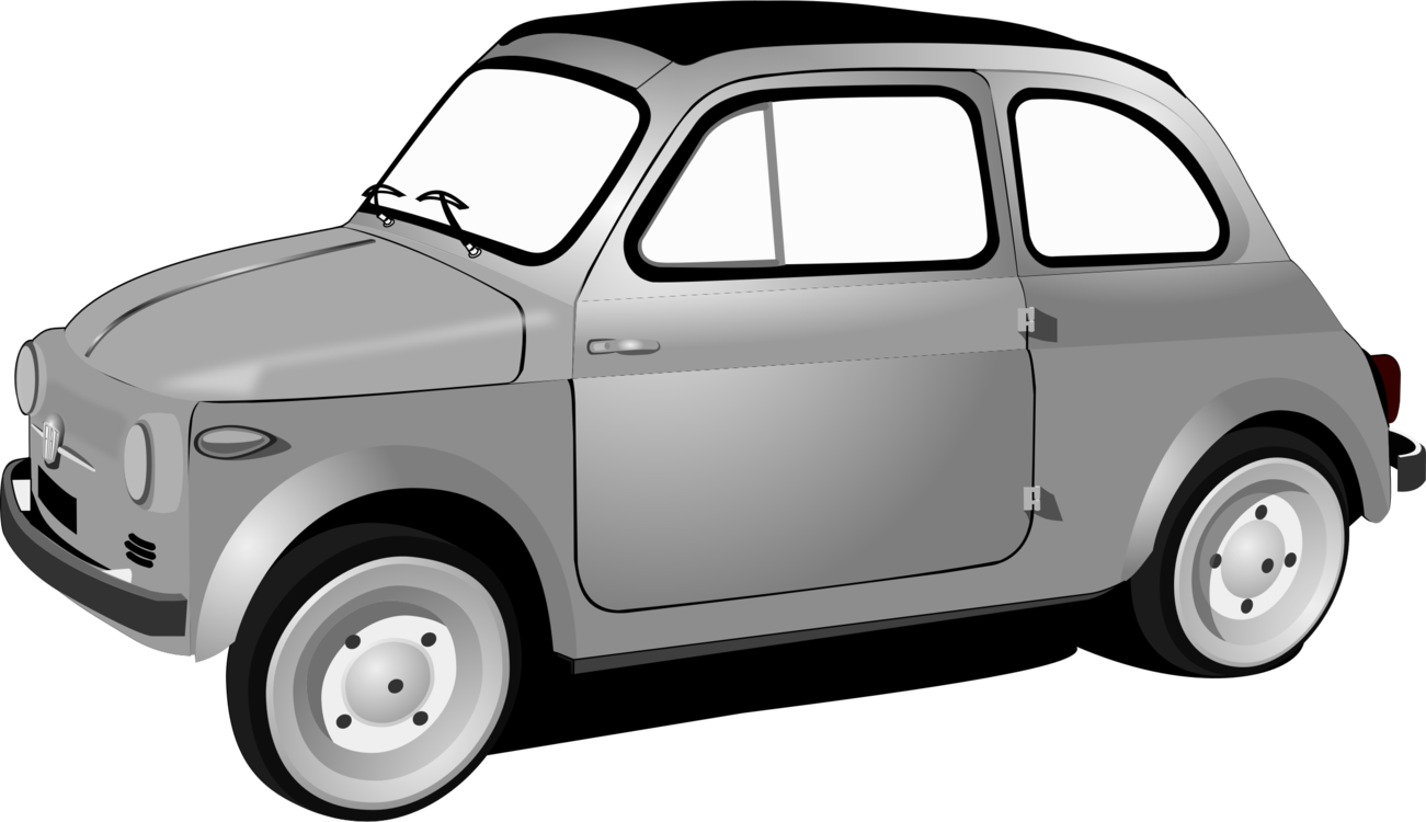 graphic royalty free download Vector 500 fiat. City car automobiles free