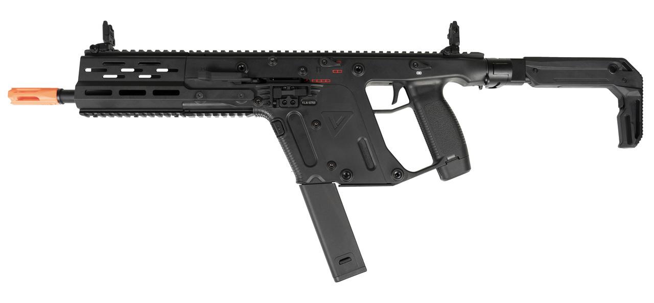 svg black and white stock Vector carbine krytac. Kriss usa licensed limited.