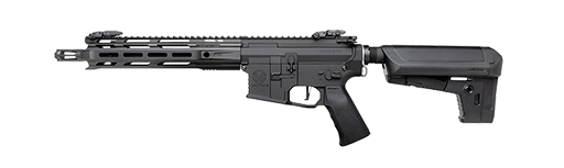 banner royalty free library Vector carbine osprey. Krytac kriss trident mkiim