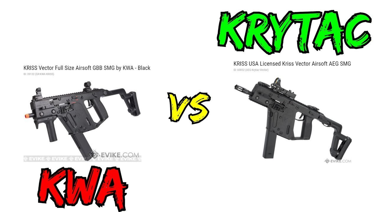 image library download KRYTAC KRISS VECTOR VS KWA KRISS VECTOR