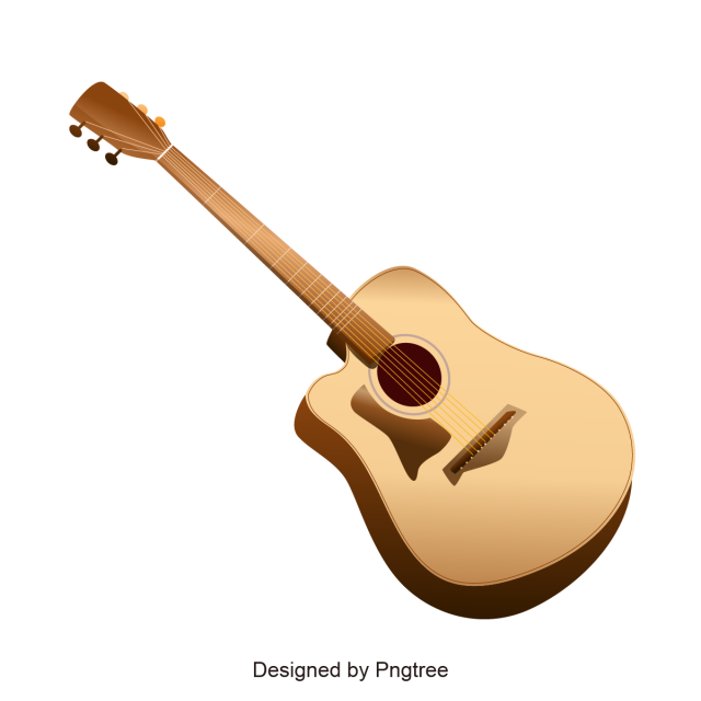 clipart library library Vector ai guitar. Design cartoon png and