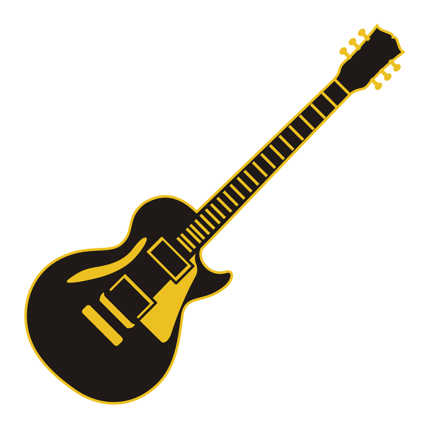vector transparent stock Vector ai guitar. Free download clip art