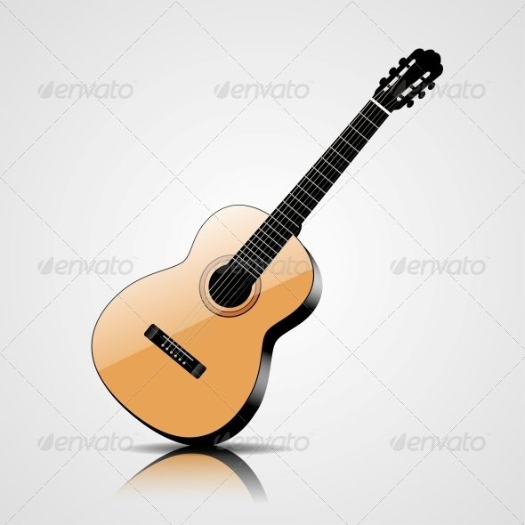 png transparent stock Classic object . Vector ai guitar
