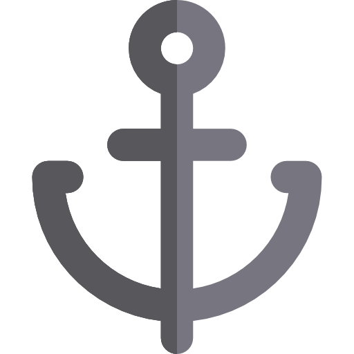png black and white stock Sailing sail navy tools. Vector anchors anchor tattoo