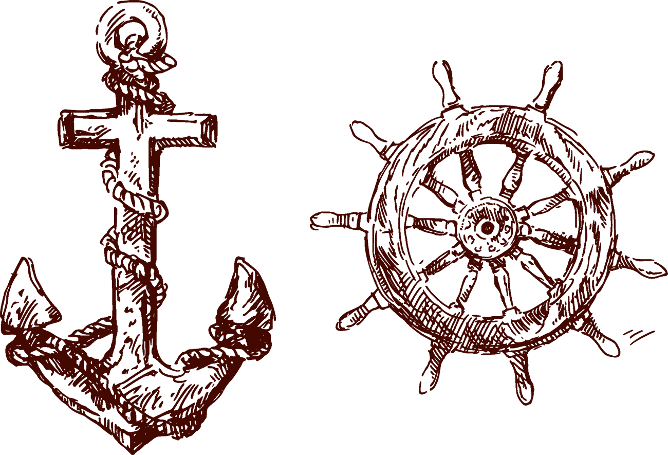 graphic royalty free download Vector anchors anchor tattoo. Flash piracy body art