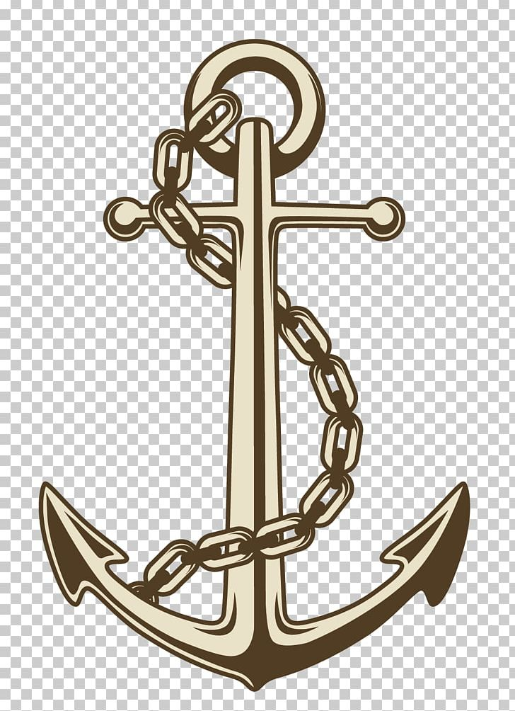 graphic black and white library Vector anchors ancor. Anchor png clipart brass