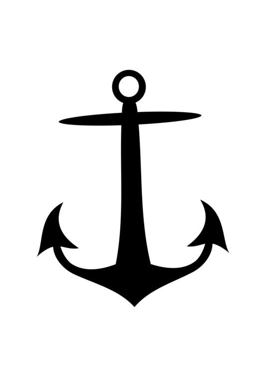 svg freeuse download Anchor silhouette ship logo. Vector anchors calligraphy