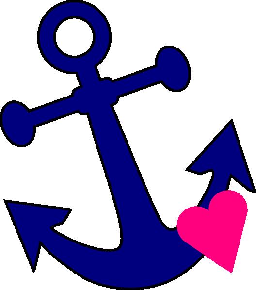 clip art royalty free Vector anchors ship anchor. With heart clip art