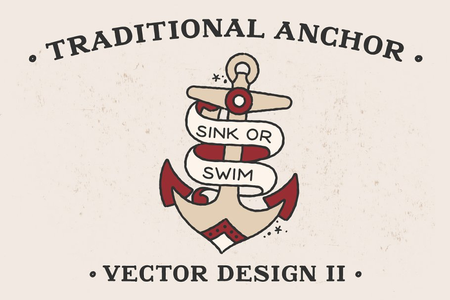 png transparent download Vector anchors traditional. Anchor design ii illustrations