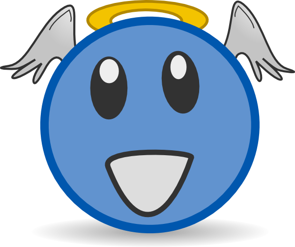 royalty free Clip art at clker. Vector angel face
