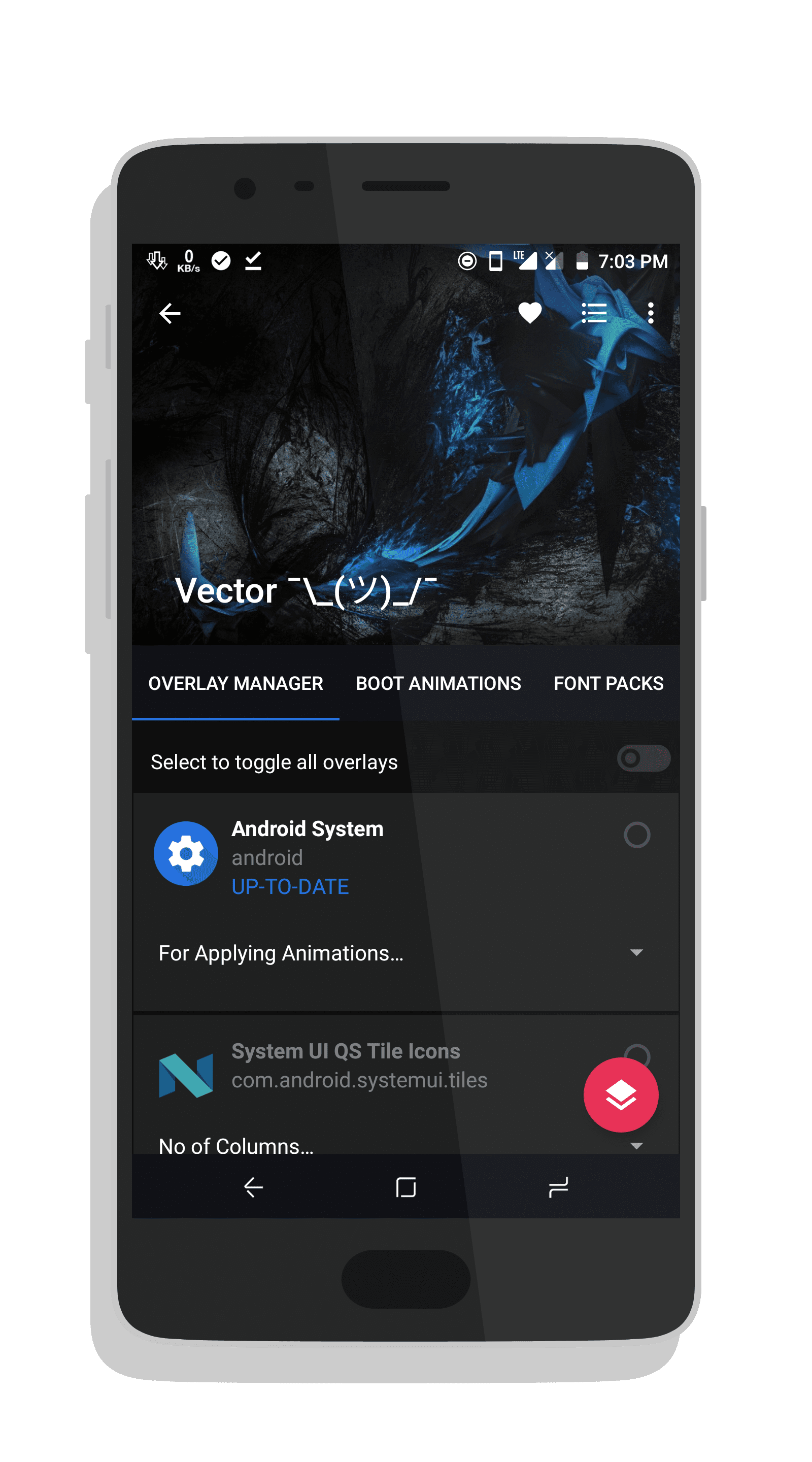 picture royalty free Substratum reworked navba oneplus. Vector apk mod