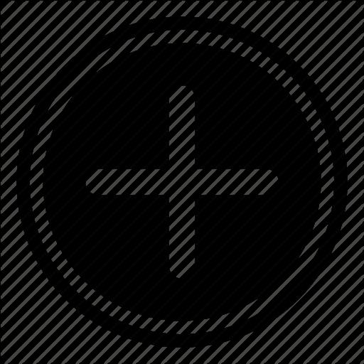 clip art free stock Vector append button.  ui essential elements