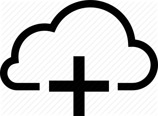 jpg library Vector append cloud. Clouds service by ai