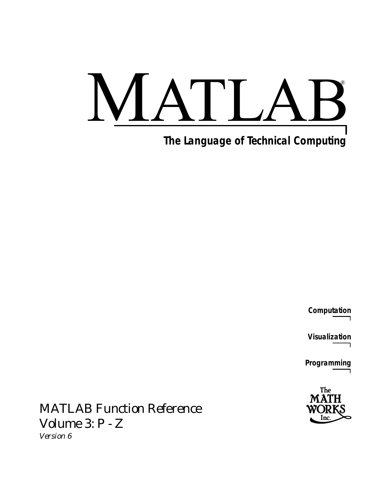 image library library Matlab function reference volume. Vector append iota rubber