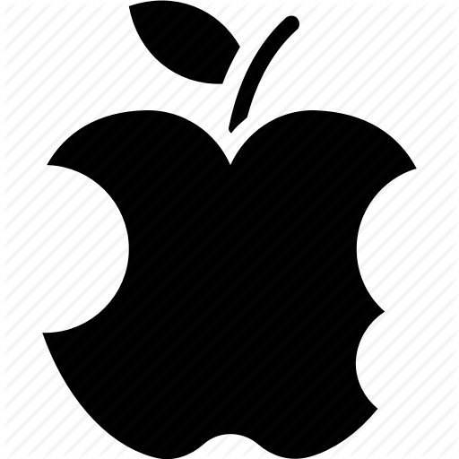 picture library library Vector apples bitten. Apple by vectors market