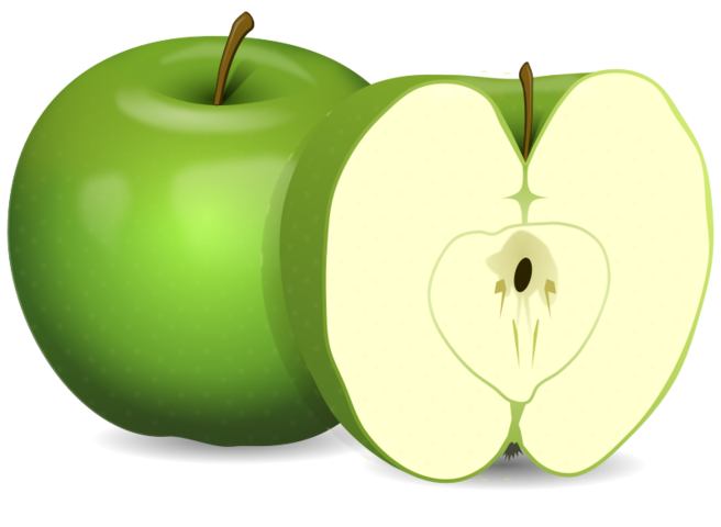 jpg free stock Free psd files vectors. Vector apples flat